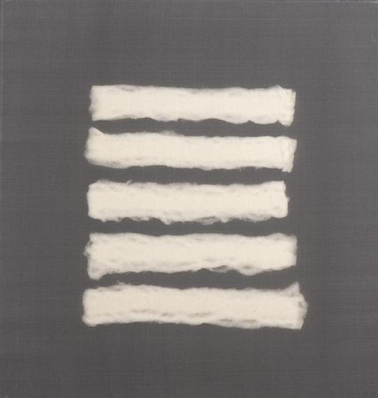 5 Pieces of Cotton Wool, 1962 - Henk Peeters