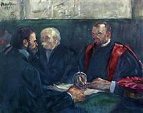 An Examination at the Faculty of Medicine, Paris - Henri de Toulouse-Lautrec