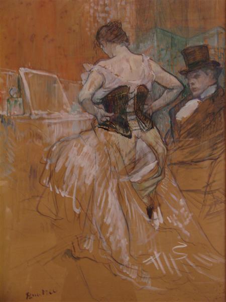Conquestofpassage, 1896 - Henri de Toulouse-Lautrec