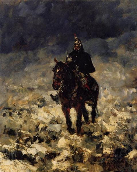 Cuirassier, 1881 - Henri de Toulouse-Lautrec