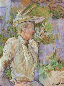 Gabrielle the Dancer - Henri de Toulouse-Lautrec