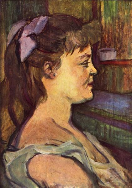 Housewife, c.1880 - 1890 - Henri de Toulouse-Lautrec