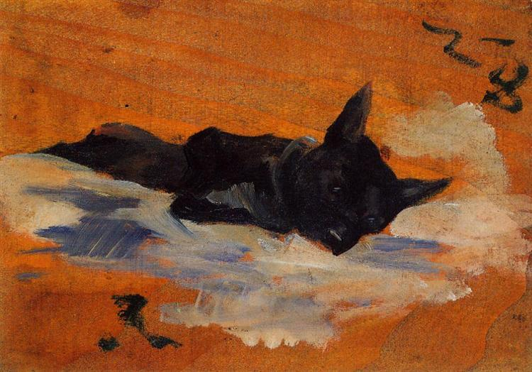 LIttle Dog, 1888 - Henri de Toulouse-Lautrec