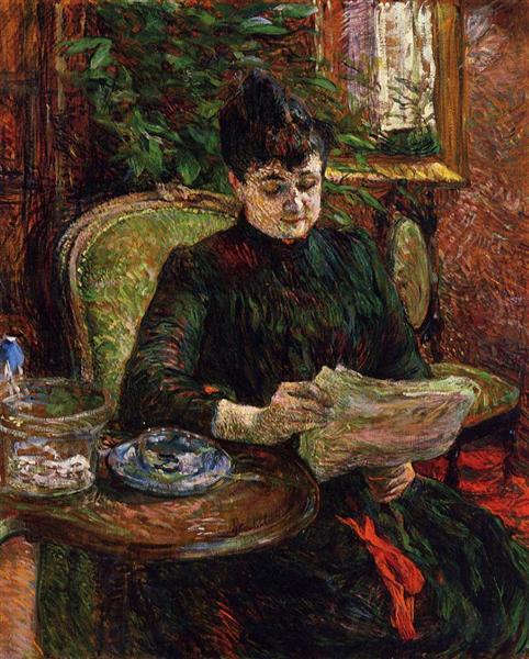 Madame Aline Gibert, 1887 - Henri de Toulouse-Lautrec