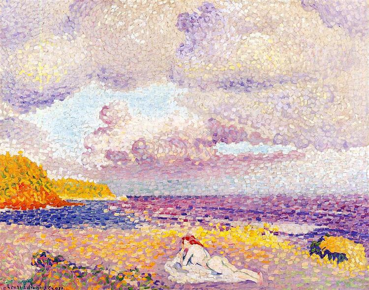 Image result for An Incoming Storm Henri-Edmond Cross