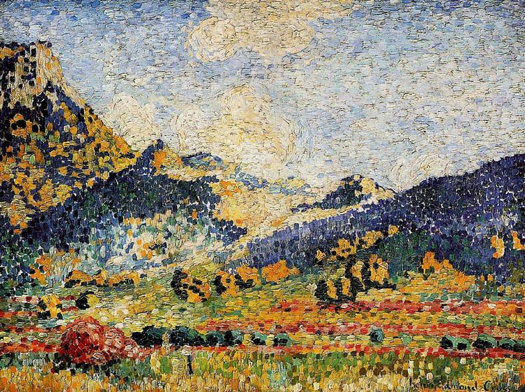 Les Petits, Montagnes Mauresques, 1909 - Henri-Edmond Cross