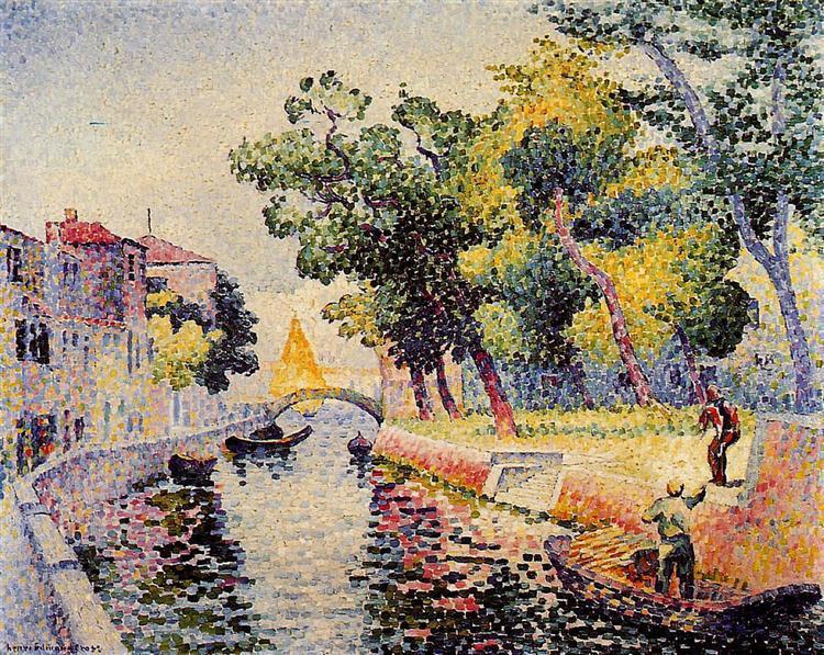 Ponte San Trovaso, 1902 - 1905 - Henri-Edmond Cross