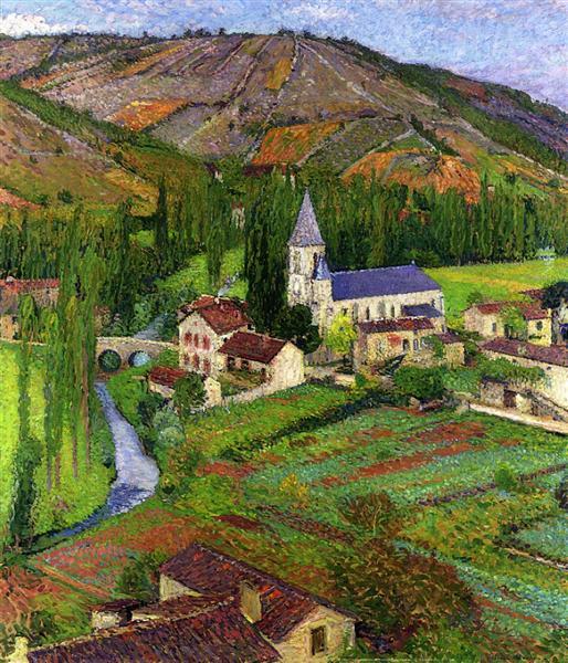 The Church at Labastide, 1920 - Henri Martin