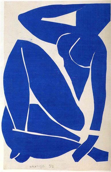 Blue Nude, 1952 - Henri Matisse