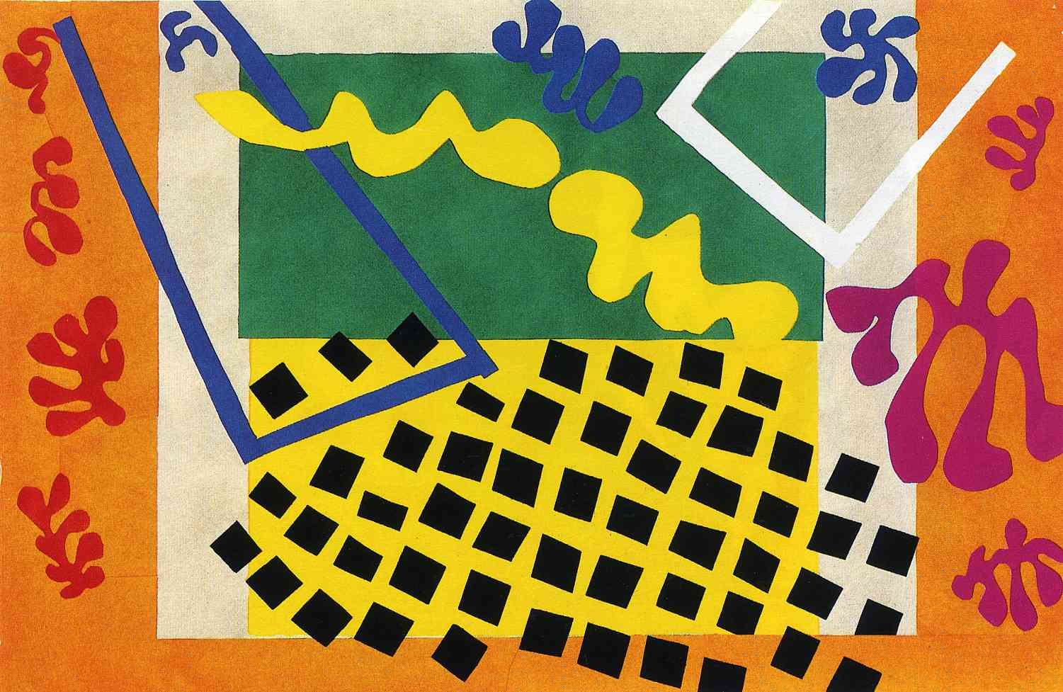 Henri Matisse, The Codomas, from the illustrated book Jazz