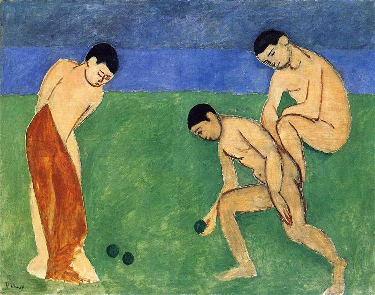 Game of Bowls, 1908 - Henri Matisse