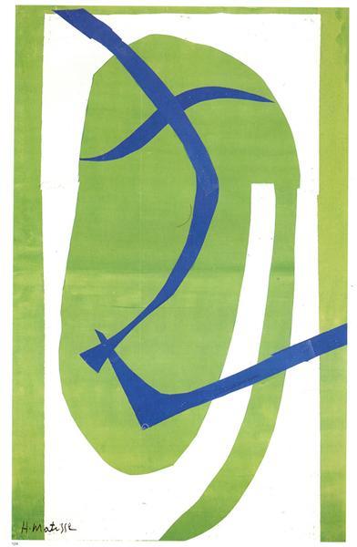 Japanese Mask, 1950 - Henri Matisse