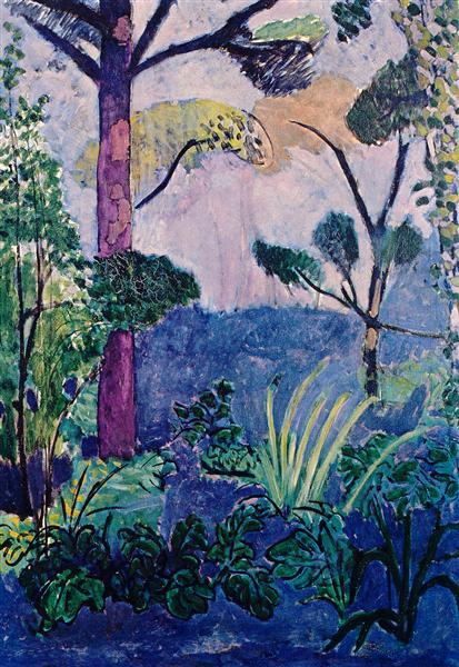 Moroccan Landscape - Matisse Henri