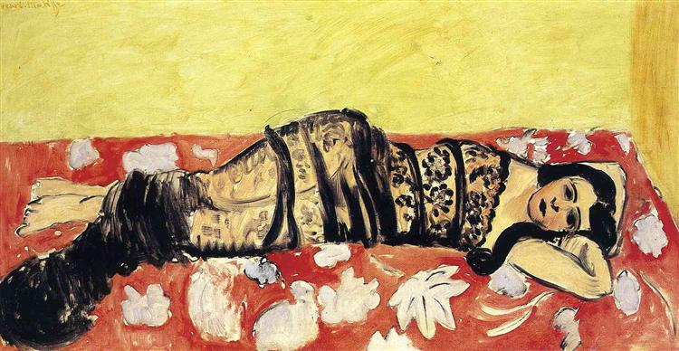 Odalisque, 1918 - Henri Matisse