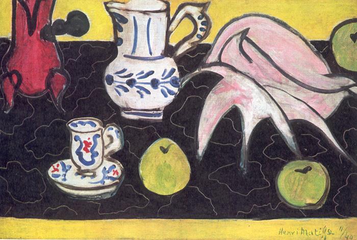 Still Life with a Shell, 1940 - Henri Matisse