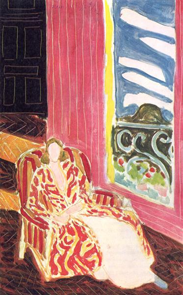 The Dark Door, 1942 - Henri Matisse