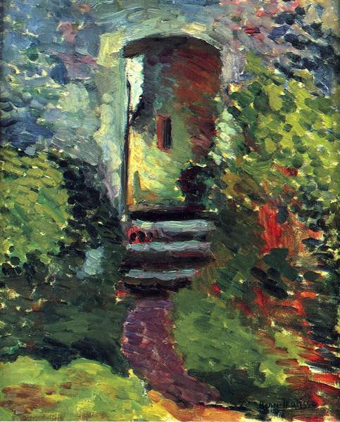 The Little Gate of the Old Mill, 1898 - Henri Matisse
