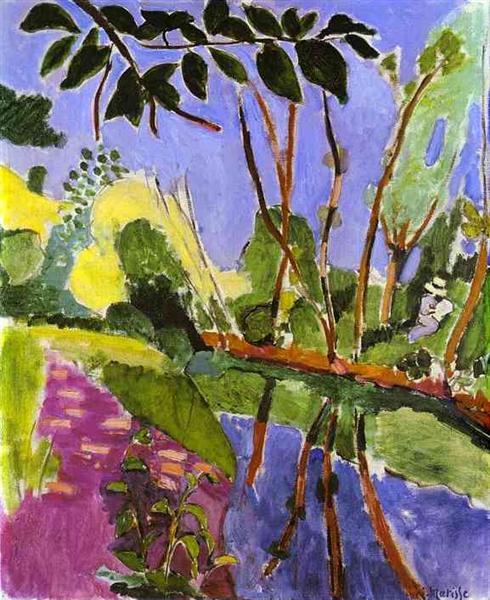 The Riverbank, 1907 - Henri Matisse