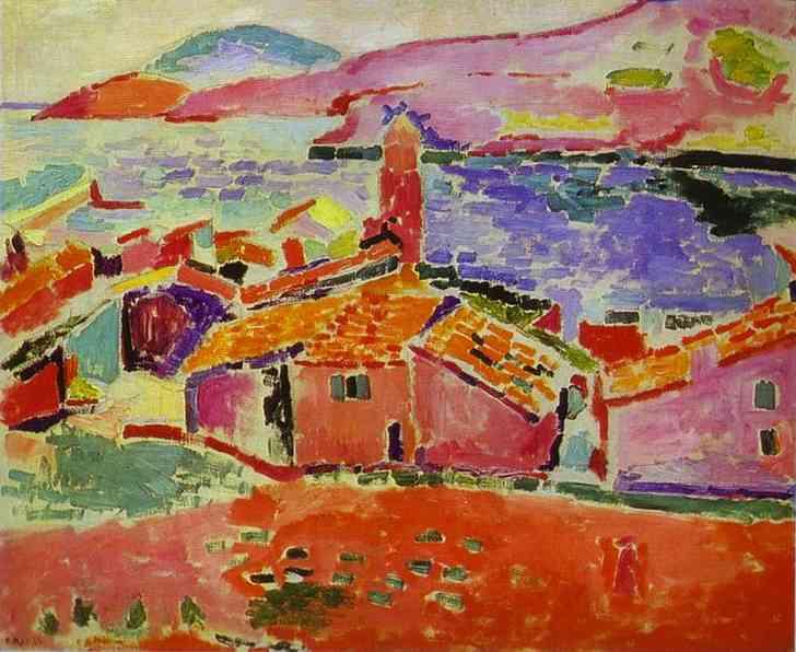 View of Collioure, c.1905 - Henri Matisse