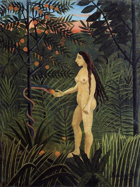 Eve, c.1906 - 1907 - Henri Rousseau