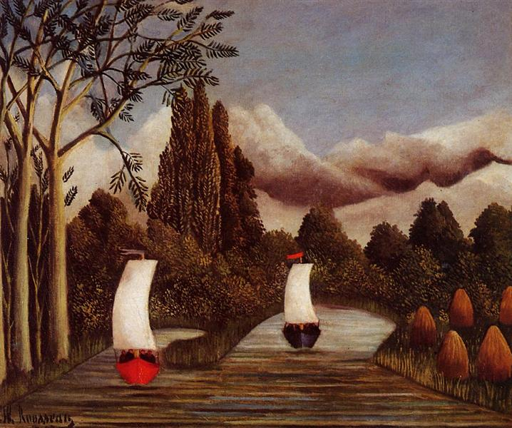 The Banks of the Oise, 1905 - Henri Rousseau