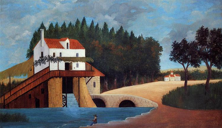 The Mill, c.1896 - Henri Julien Félix Rousseau