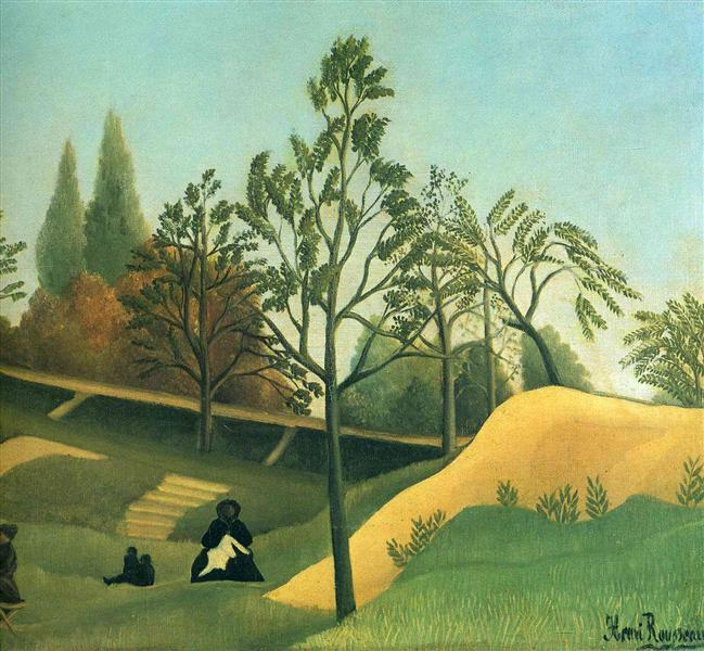 View of the Fortifications, 1896 - Henri Rousseau