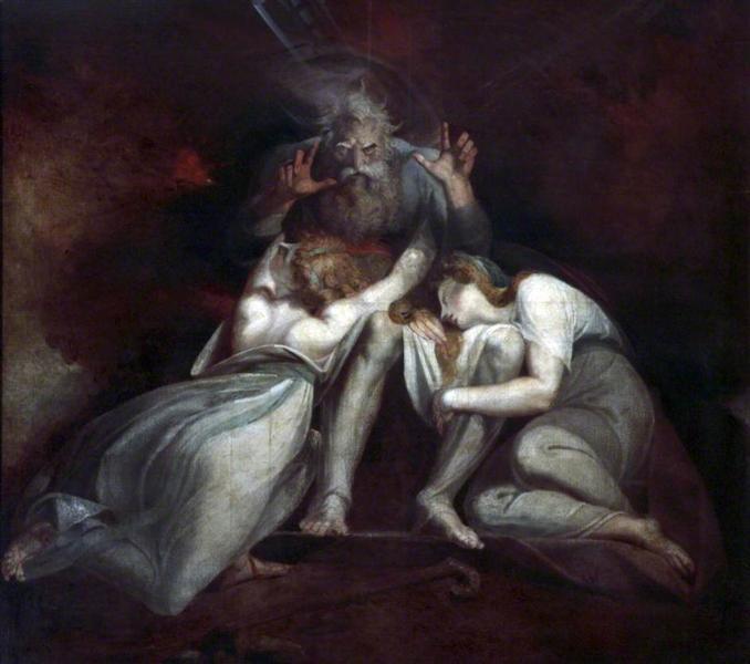 La muerte de Edipo - Henry Fuseli