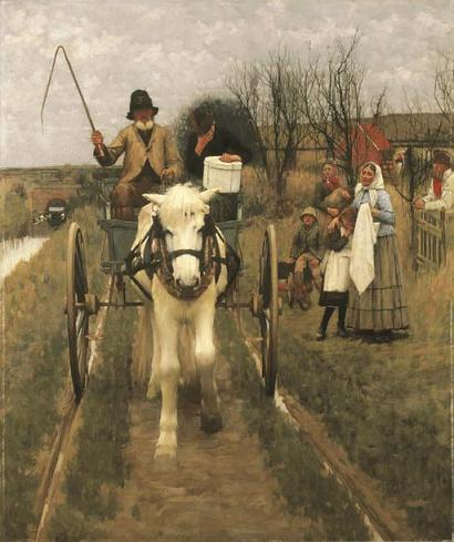 Leaving Home, 1890 - Henry Herbert La Thangue