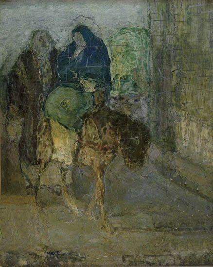 Flight Into Egypt, 1922 - Henry Ossawa Tanner