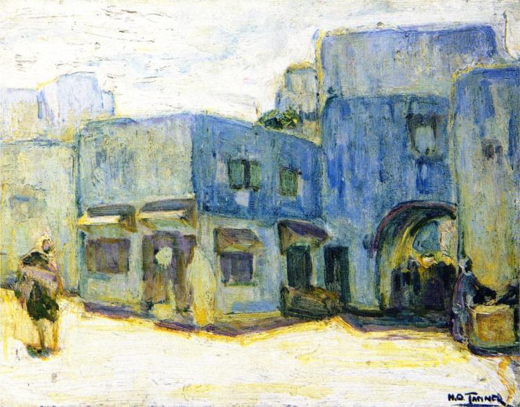 Sunlight, Tangier, 1914 - Henry Ossawa Tanner