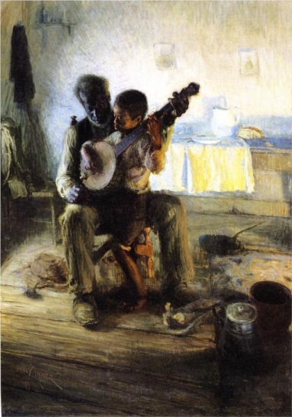 The Banjo Lesson, 1893 - Henry Ossawa Tanner