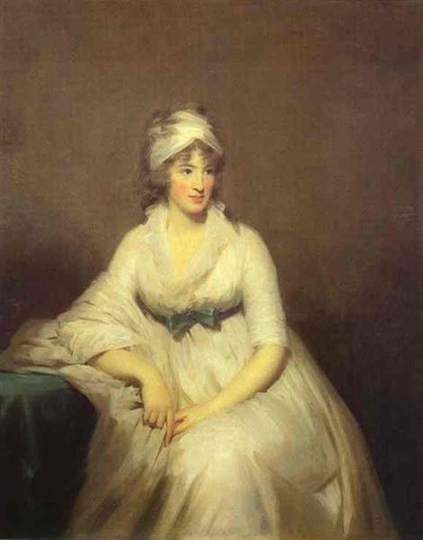 Portrait of Isabella McLeod, Mrs. James Gregory, c.1798 - Henry Raeburn