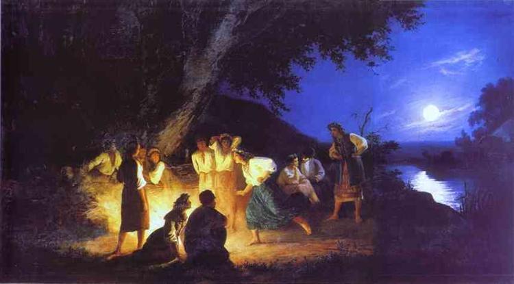 Night on the Eve of Ivan Kupala, c.1880 - Henryk Siemiradzki