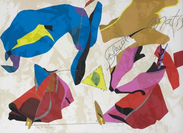 Blue Matisse, 1986 - Эрве Телемак