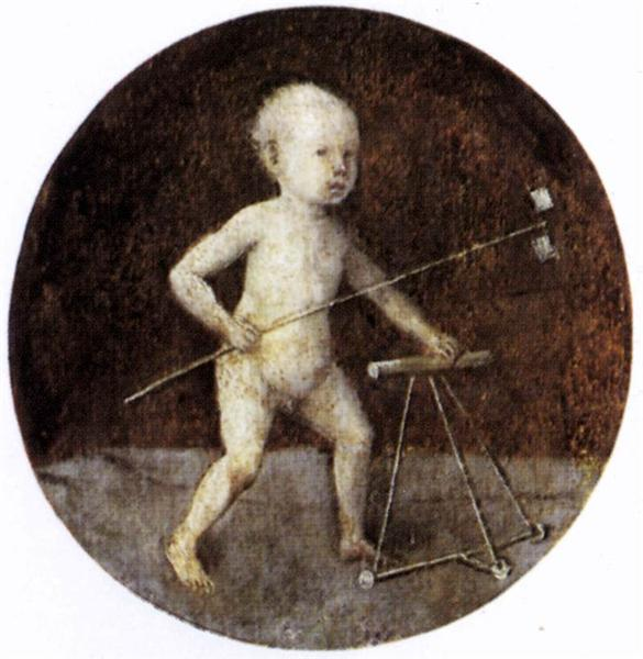 Christ Child with a Walking Frame, 1480 - Hieronymus Bosch