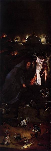 Hermit Saints Triptych (left panel), c.1505 - Hieronymus Bosch