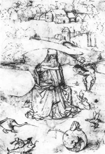 Temptation of St Anthony - Hieronymus Bosch
