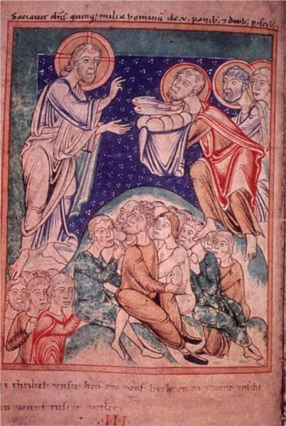 Prayer Book of Hildegard of Bingen, c.1179 - Hildegard of Bingen