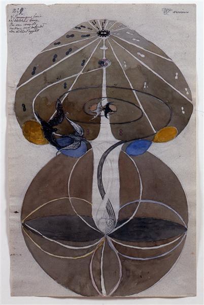 Tree of Knowledge No.2 Series W, 1913 - Hilma af Klint