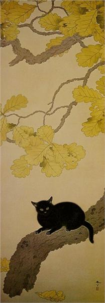 Black Cat (Kuroki Neko), 1910 - Хисида Сунсё
