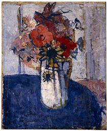 Flower piece - Horace Trenerry
