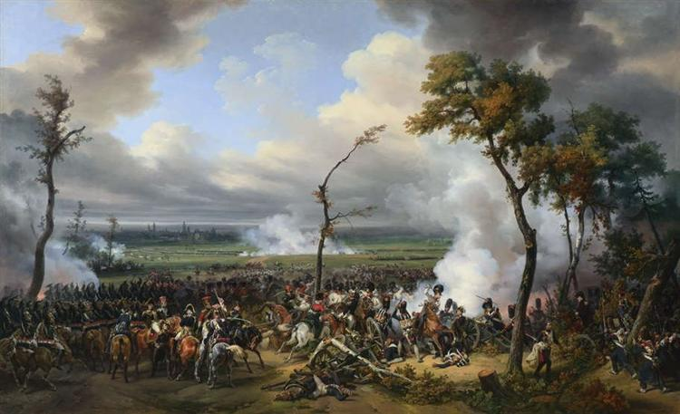 The Battle of Hanau, 1824 - Horace Vernet