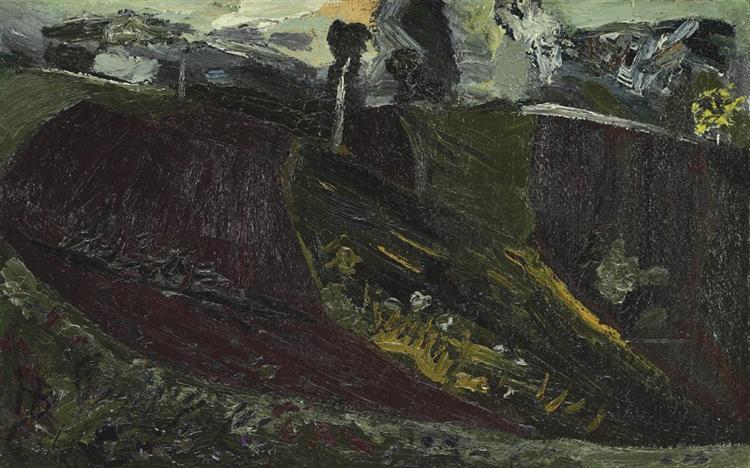 Hills, 1966 - Horia Bernea