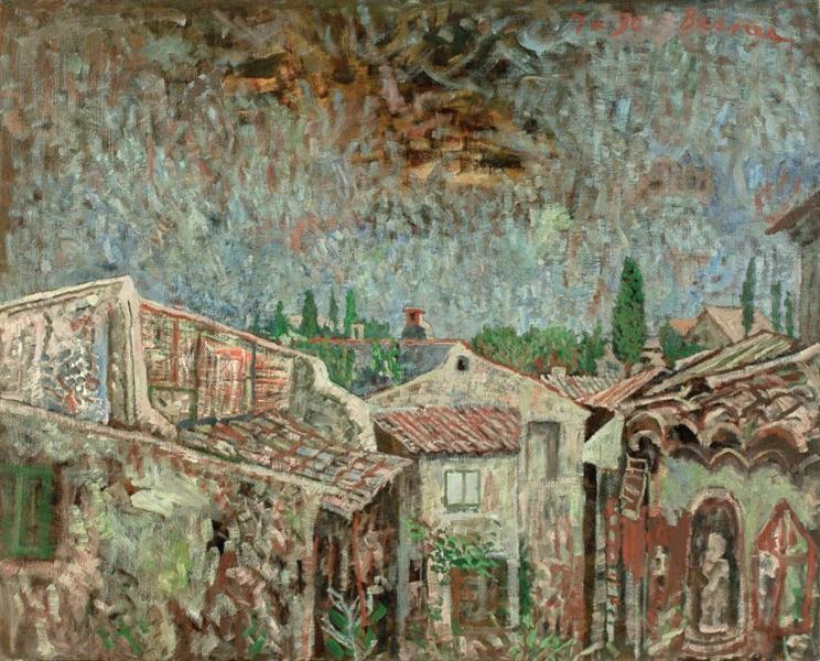 Tile Roofs - Horia Bernea