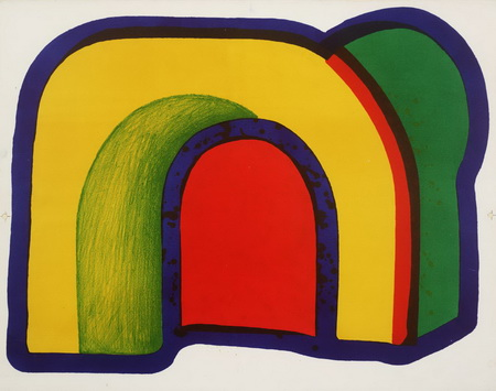 Arch, 1971 - Howard Hodgkin