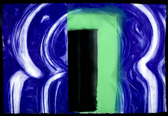 Moroccan Door, 1991 - Howard Hodgkin