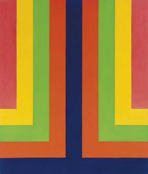 Chroma Double, 1965 - Howard Mehring