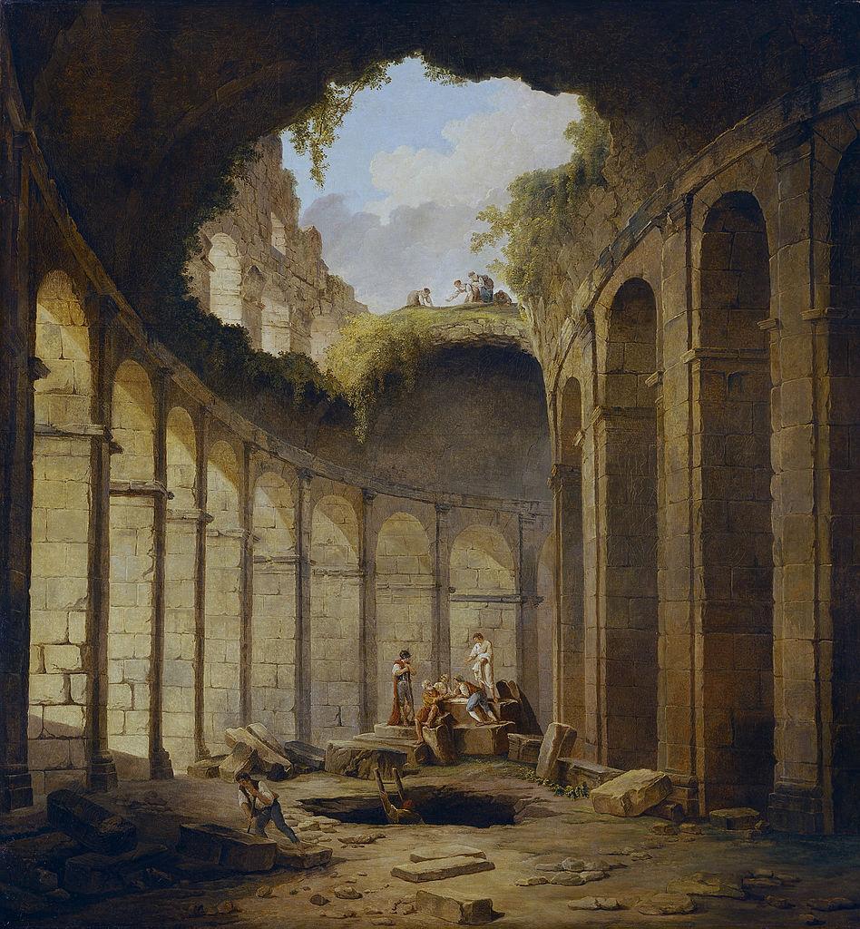 Colosseum, Rome, 1790