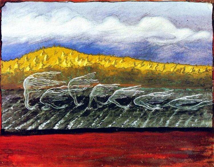 The Wind Blows, 1897 - Hugo Simberg